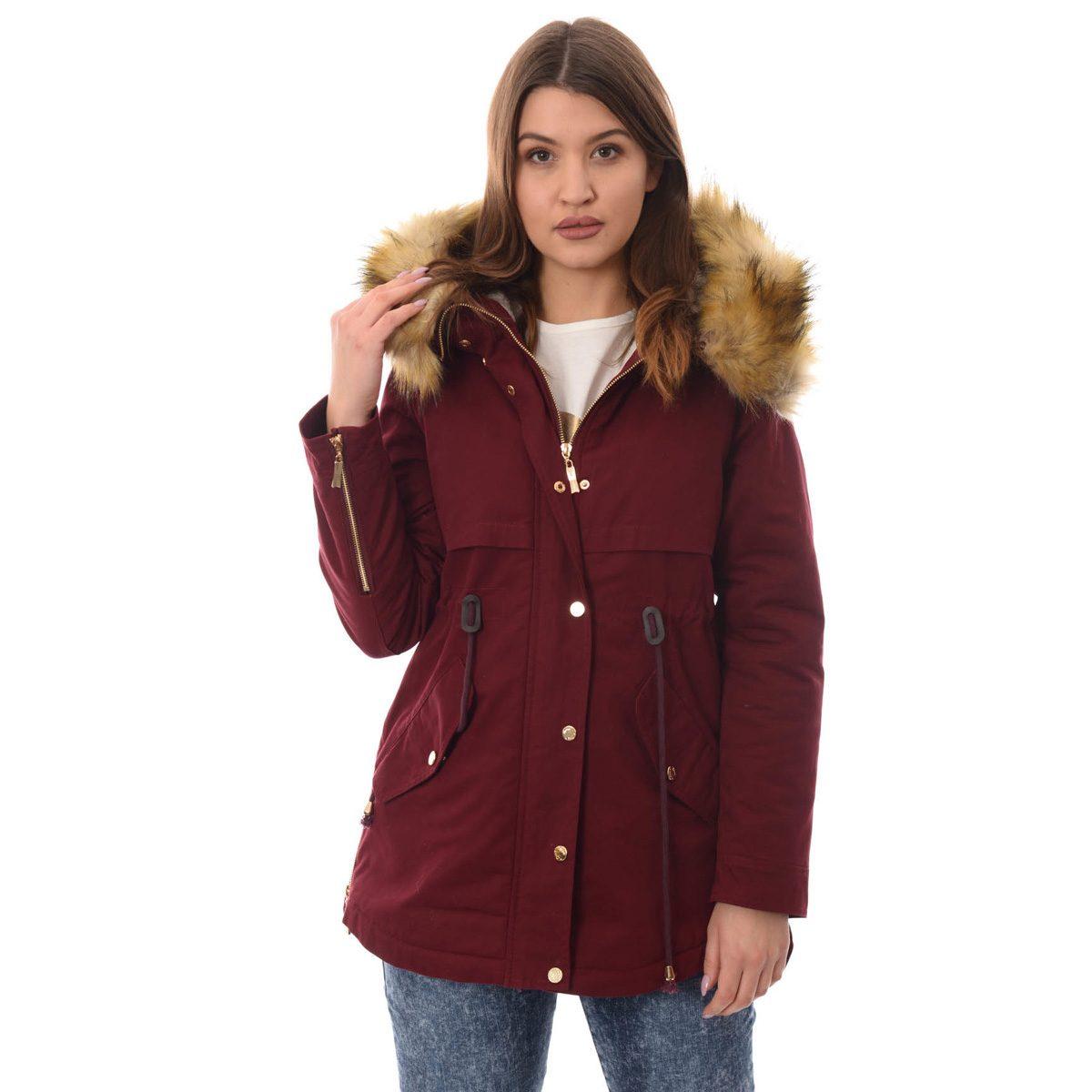 Damska kurtka parka na zimę, z kapturem czy bez?